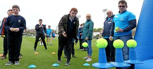 Leadership team helps out at Sussex Cricket's disability inclusion day