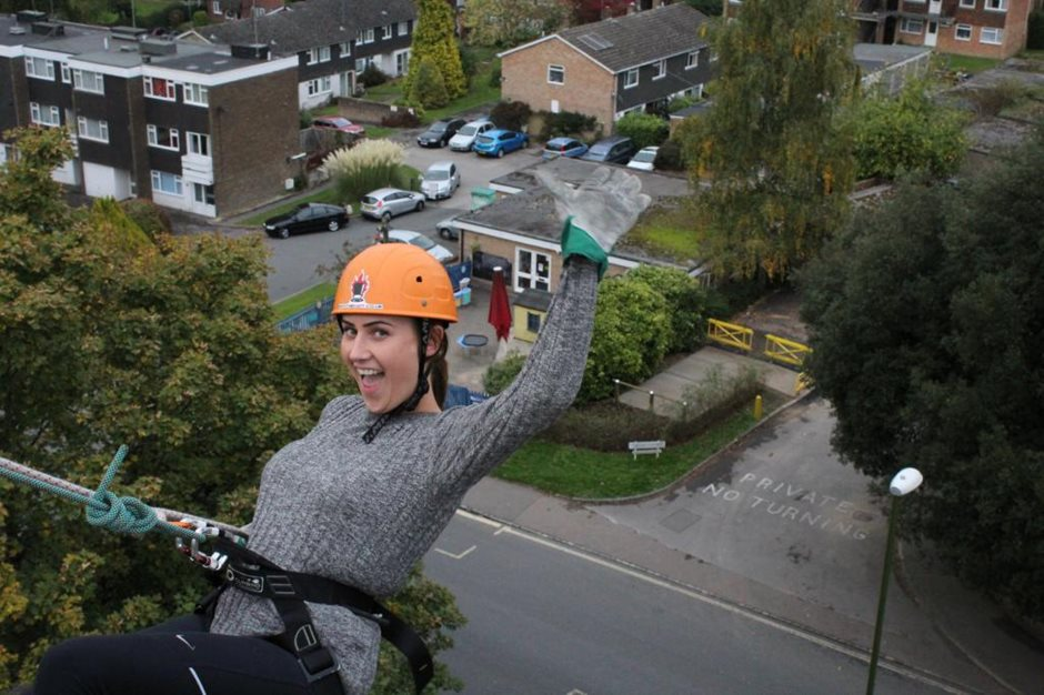 1<sup>ST</sup> CENTRAL's charity abseil