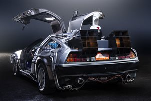 Great Scott! Professor Brown's DeLorean costs £60,000 a year to insure