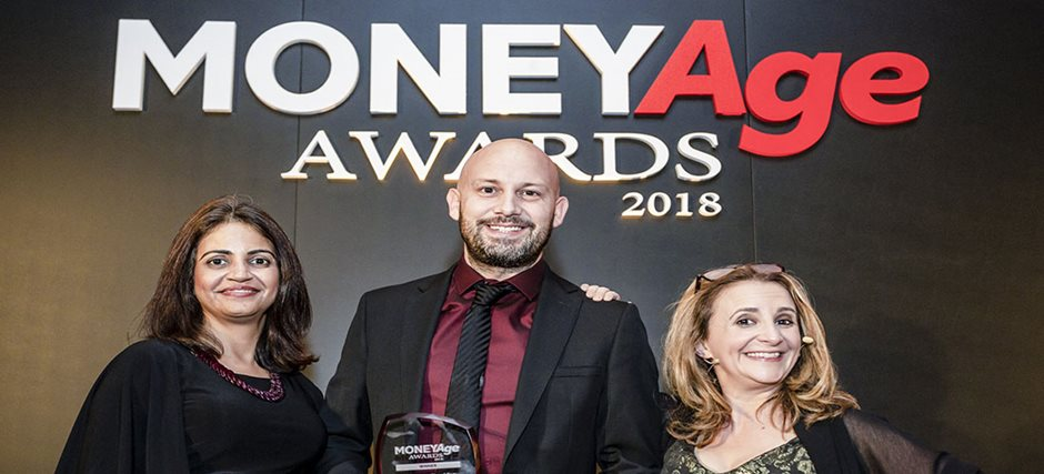 1<sup>ST</sup> CENTRAL named Insurance Provider of the Year at MoneyAge Awards