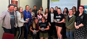 Robot Olympics engage young women with digital technologies
