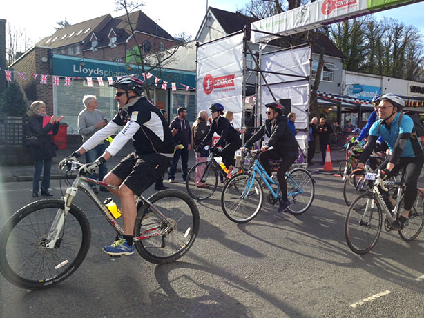 Pedal power raises money for local hospice