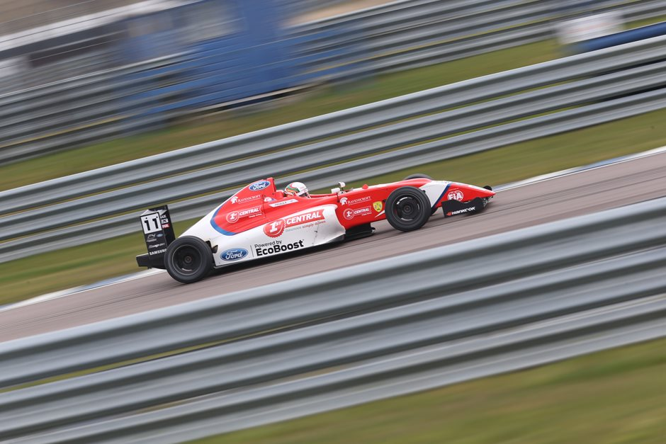 Sebastian Priaulx gears up for 2018 F4 British Championship this weekend