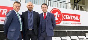 1<sup>ST</sup> CENTRAL announces renewal of Sussex Cricket sponsorship